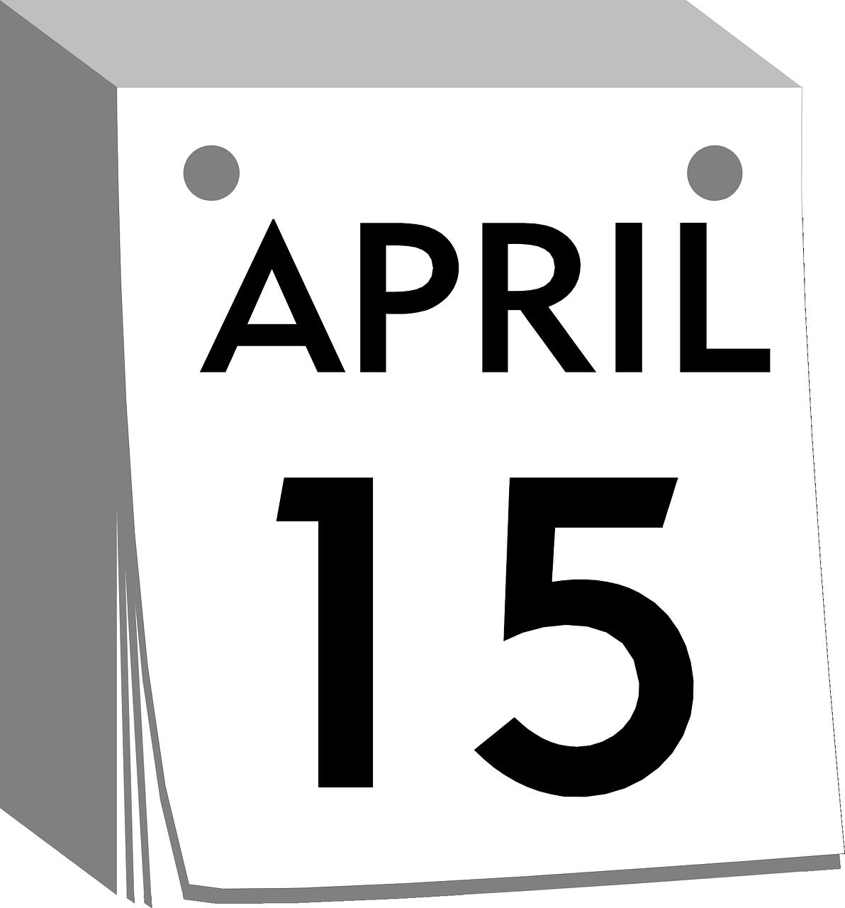 april 15 clean